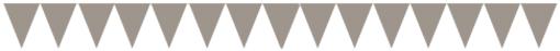 Флажки-гирлянды 140 х 170 мм Комплект 15 флажков на шнурке 2,5 м