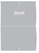Календарь журнальный 30 х 40 см