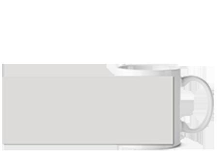 Кружка керамическая, 350 мл