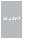 Меню 14 х 29,7 см