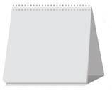 Календарь настольный перекидной 14 х 14 см