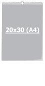 Календарь Перекидной 20 х 30 см (А4)