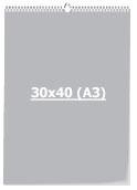 Календарь Перекидной 30 х 40 см (А3)