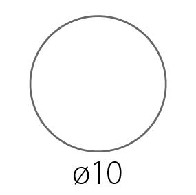 Наклейки, стикеры Круглые d=100 мм
