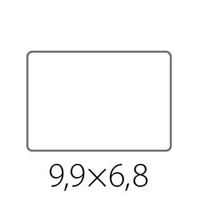 Наклейки, стикеры 99х68 мм