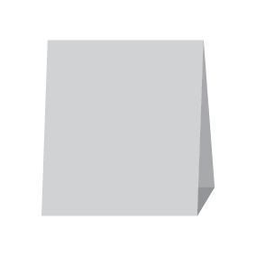 Менюхолдер, тейбл-тент домик 15х17 см