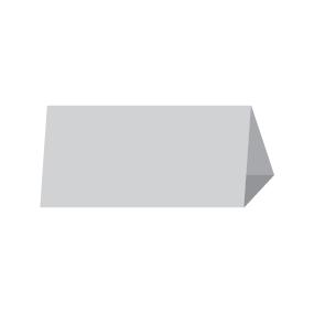 Менюхолдер, тейбл-тент домик 20х10 см